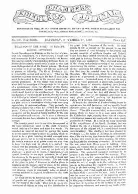 Chambers's Edinburgh Journal, No.307 New Series, Saturday, November 17, 1849