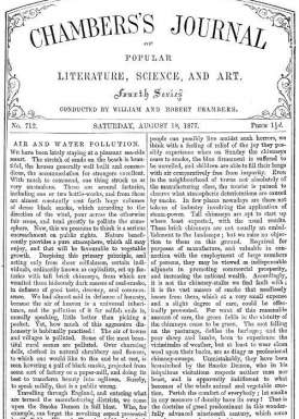 Chambers's Journal of Popular Literature, Science, and Art, No. 712 August 18, 1877