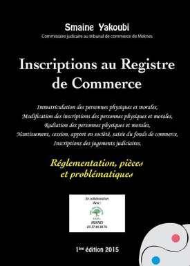 Inscriptions au Registre de Commerce