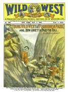 """Young Wild West at """"Forbidden Pass"""" and, How Arietta Paid the Toll"""