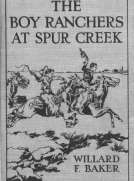 The Boy Ranchers at Spur Creek; Or, Fighting the Sheep Herders