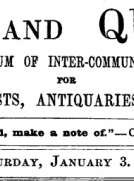 Notes and Queries, Vol. V, Number 114, January 3, 1852