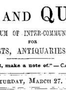 Notes and Queries, Vol. V, Number 126, March 27, 1852