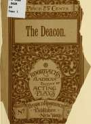 The Deacon An Original Comedy Drama in Five Acts