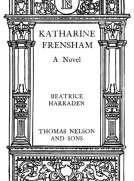 Katharine Frensham A Novel