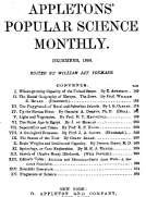 Appletons' Popular Science Monthly, December 1898 Volume LIV, No. 2, December 1898