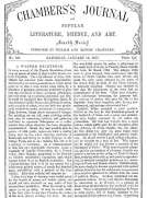 Chambers's Journal of Popular Literature, Science, and Art, No. 681