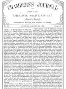 Chambers's Journal of Popular Literature, Science, and Art, No. 682 January 20, 1877.