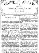 Chambers's Journal of Popular Literature, Science, and Art, No. 698 May 12, 1877
