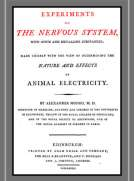 Experiments on the Nervous System with Opium and Metalline Substances Made Chiefly with the view of Determining the Nature