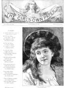 The Girl's Own Paper, Vol. VIII, No. 359, November 13, 1886