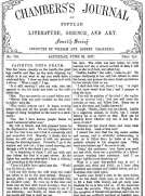 Chambers's Journal of Popular Literature, Science, and Art, No. 705, June 30, 1877