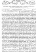 Chambers's Edinburgh Journal, No. 305 New Series, Saturday, November 3, 1849