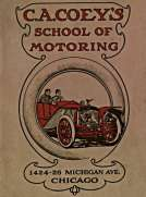 C.A. Coey's School of Motoring, 1424-26 Michigan Ave. Chicago