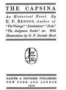 The Capsina An Historical Novel