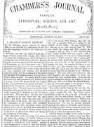 Chambers's Journal of Popular Literature, Science, and Art, No. 713, August 25, 1877