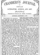 Chambers's Journal of Popular Literature, Science, and Art, No. 714 September 1, 1877