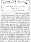 Chambers's Journal of Popular Literature, Science, and Art, No. 716 September 15, 1877