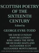 Scottish Poetry of the Sixteenth Century