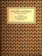 Polite Satires Containing The Unknown Hand, The Volcanic Island, Square Pegs