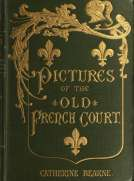 Pictures of the old French court Jeanne de Bourbon, Isabeau de Bavière, Anne de Bretagne