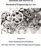 questions and answers in mechanical engineering Part One