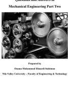 Questions and Answers in Mechanical Engineering Part Two