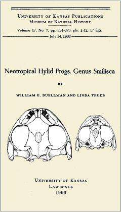 Neotropical Hylid Frogs, Genus Smilisca
