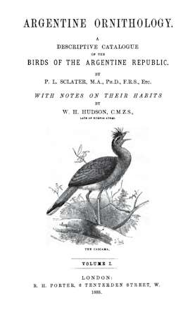 Argentine Ornithology, Volume 1 (of 2)