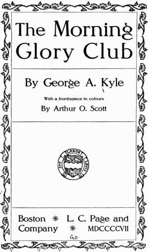 The Morning Glory Club