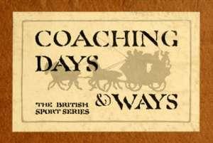Coaching Days & Ways