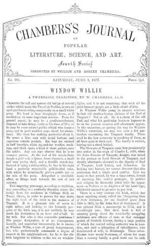 Chambers's Journal of Popular Literature, Science, and Art, No. 701 June 2, 1877