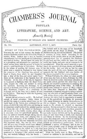 Chambers's Journal of Popular Literature, Science, and Art, No. 706 July 7, 1877