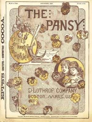 The Pansy Magazine, Vol. 15, Dec. 1887